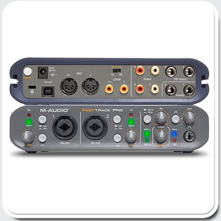 Thumb m audio fast track pro usb