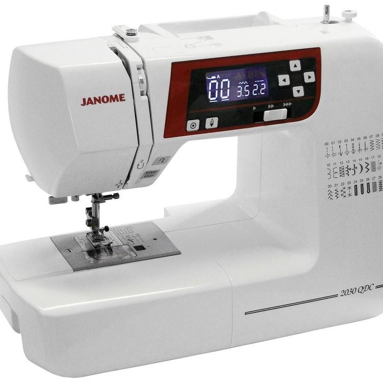 Thumb maquina de costura janome 2030qdc eletronica30 pontos mesa extensora passador autom. de linha 088842300