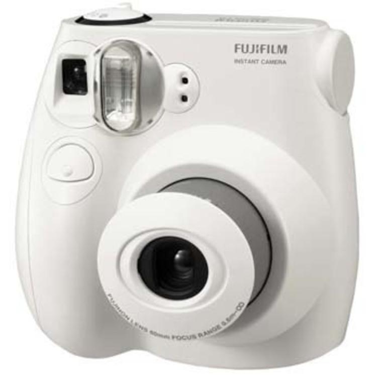 Thumb camera instantanea fujifilm instax 7s branca
