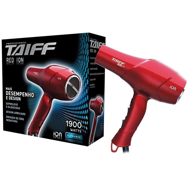 Thumb secador de cabelos red ion 1900w 110v vermelho taiff  37638 2000 001