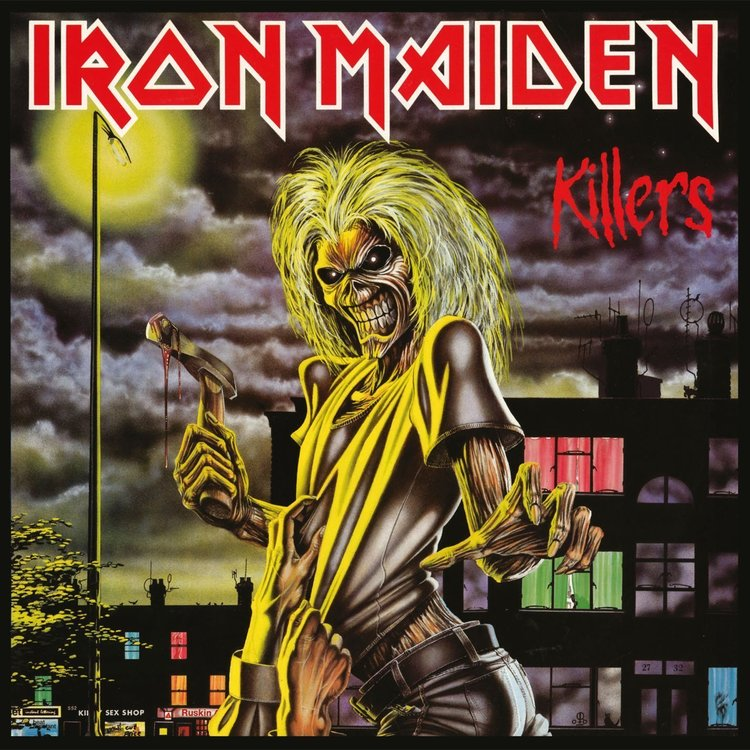 Thumb disco de vinil iron maiden killers