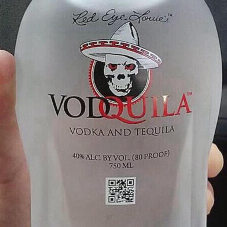 Thumb vodka and tequila liquor