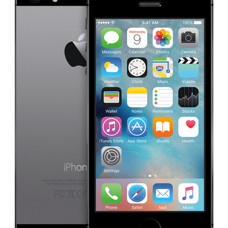 Thumb iphone 5s spacegrey