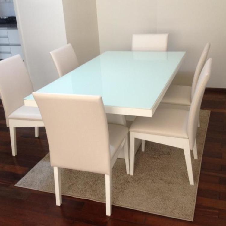 Thumb mesa de jantar branca 3