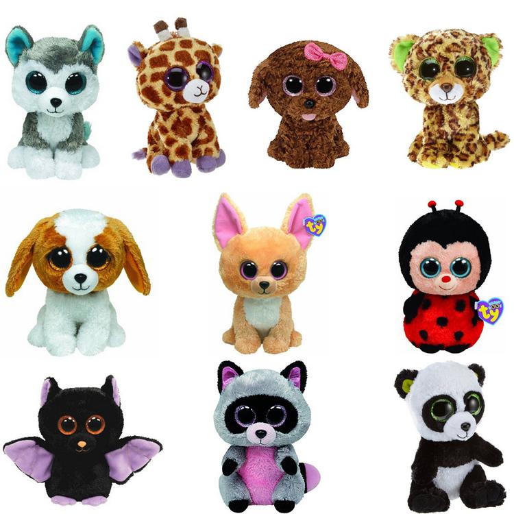 Thumb 10pcs lot beanie boos plush font b animals b font plush toys font b big b